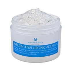 Annie's Way Arbutin + Hyaluronic Acid ( BRIGHTING JELLY MASK )
