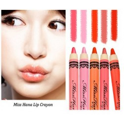 Miss Hana Lip Crayon (  01 Purple Sakura)