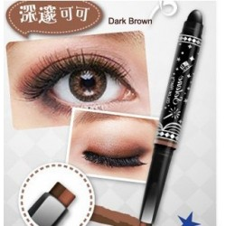 Solone Color party  2-ways Eyeshadow Pencil( Dark Brown)