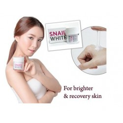 Snail white Facial Cream ( Free 10 pcs mask)