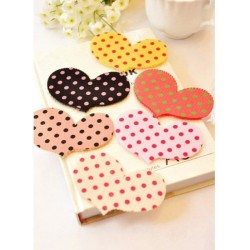 Cute Dot Hair Pad ( Love Shape)