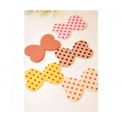 butterfly hair pad