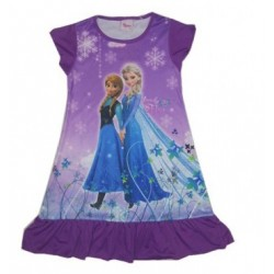 The Froze Dress -Anna & Elsa (Purple)