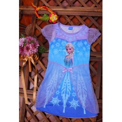 The Frozen Elsa Dress