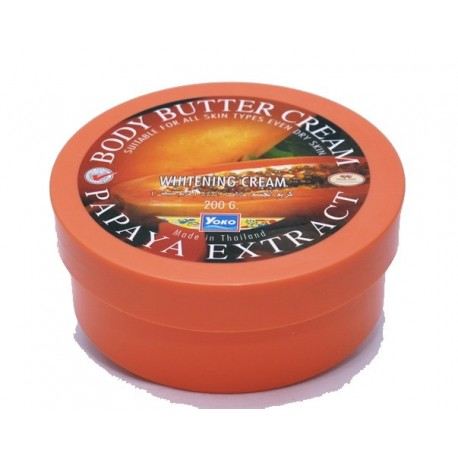 Yoko Papaya Body Butter Cream