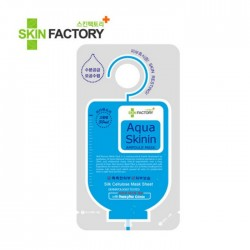 Skin Factory Aqua Skin Ampoule Mask ( 1pc) - hydrating