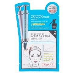 5 x Dermal Korea 2-Step Bayliss Synergy Aqua Moisture Ampoule Mask (1pc)