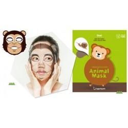 3 x Berrisom  Animal Mask  (Monkey)