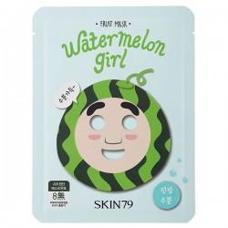 10 x Skin79 Fruit Mask (Watermelon Girl) 23 g - Moisture & Soothing