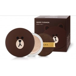 Missha Line Friends Limited Edition Cushion SPF50PA+++ ( Whitening & Anti-wrinkle)