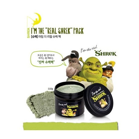 Dream Works x Olive Young SHREK I am the Real SHREK Pack 110g