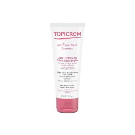 Topicrem Light Ultra Moisturizing Face Cream 75ml