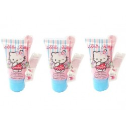 Hello Kitty Boutique 2 in 1 Shampoo and Shower Gel 50ml ( 3pcs)