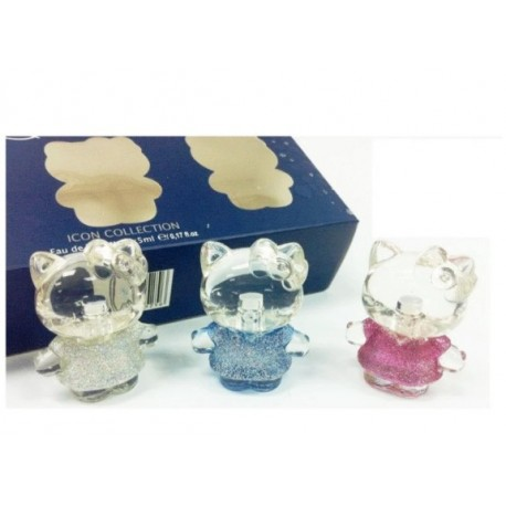 Hello Kitty Diamond Gift Icon Set ( 3 x 5ml)