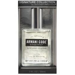 Designer Imposter -Armani Code ( By giorgio armani) EDT 59ml