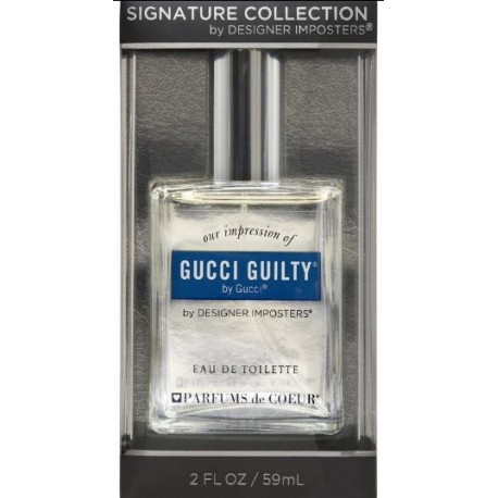 Designer Imposter  Signature Collation -Gucci Guilty ( By Gucci) EDT 59ml