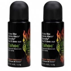 Designer Imposter Deodorant Body Spray - Tahoe ( 2pcs)