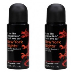 Designer Imposter  Fragrant Deodorant Spray - New York Nights ( 2pcs)