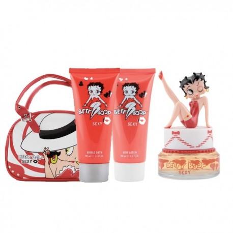 Betty Boop Sexy Set  ( 4 items)