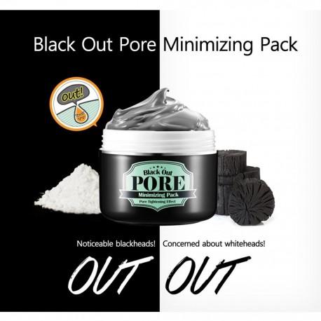 Secret key black out pore minimizing mask 100g