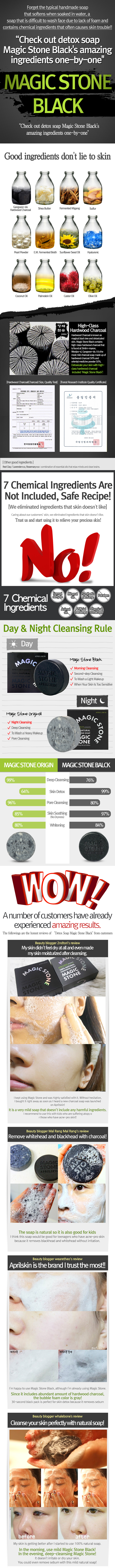 Magic stone black desc