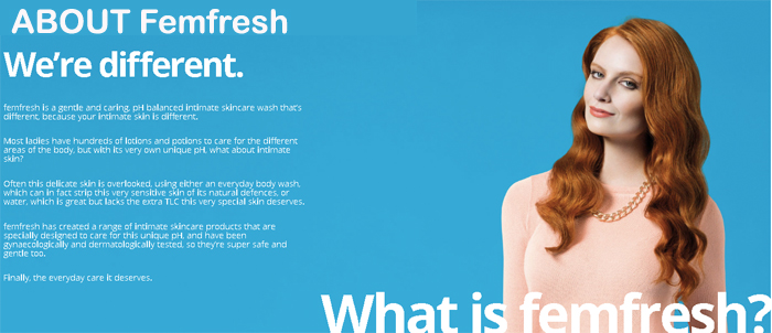 femfresh english
