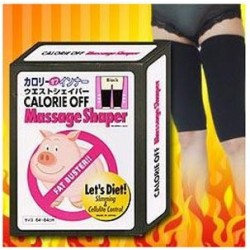 Fat Buster Calorie Off Massage Shaper for Thigh (Black color)