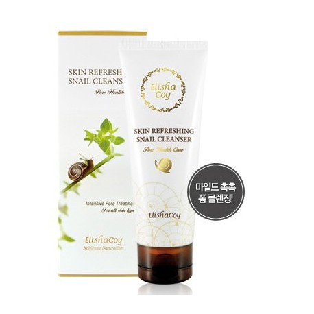 Elishacoy Skin Refreshing Snail Cleanser 120g