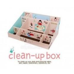 Cute Korea DIY Clean Up Box