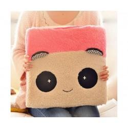 Panda Cushion(pink panda)
