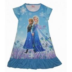 The Froze Dress -Anna & Elsa (Blue)