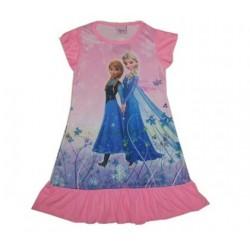 The Froze Dress -Anna & Elsa (Pink )