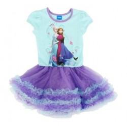 Frozen Princess Anna And Elsa Dress