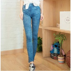 Snow Skinny Jean Legging ( Light Blue)