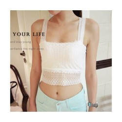 Butterfly Lace Top ( White)