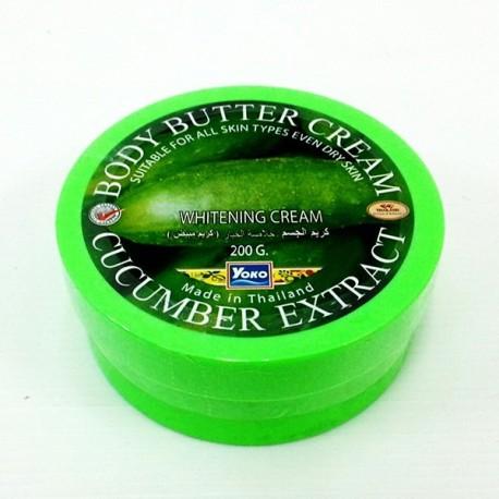 Yoko Cucumber Extract Body Butter Cream