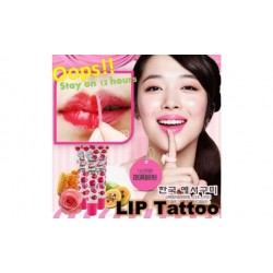 Skin Factory 7 Seconds Touch Fit Lip Tattoo Pack  (3 colors)