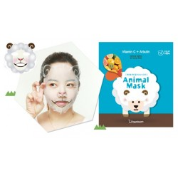 3 x Berrisom  Animal Mask  (Sheep)