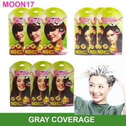 Moon17 Bubble Hair Color ( 10 packs) - Amber Brown