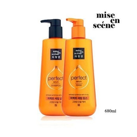 Mise En Scene Perfect Serum Shampoo Set 680ml