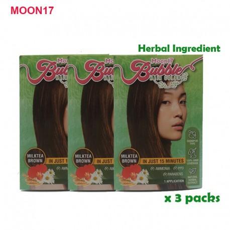 Bubble Hair Colour ( Milk Tea) - 3 packs